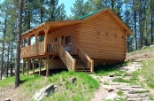 Cabin - Double Queen with Loft and Full Kitchen $250