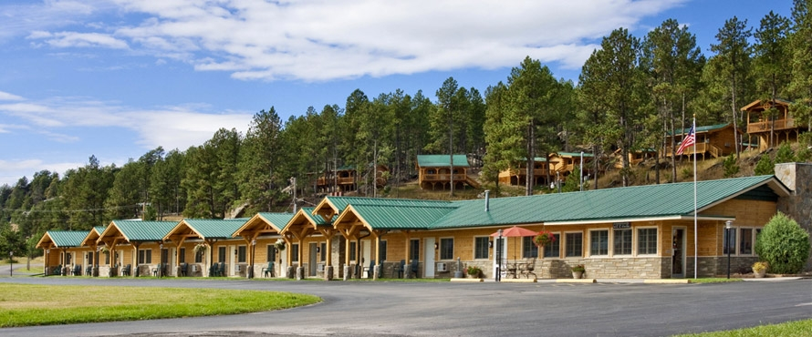 Lodge cabins custer south dakota rock crest lodge for Cabins near custer sd